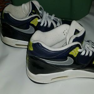 newest 27679 ba01d ... reduced nike air shoes nike air flight 89 rare color dark navy blue  711dc 88935
